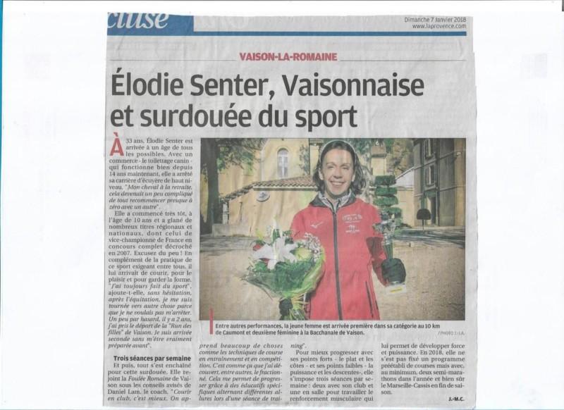Presse 2018 01 07 Elodie Surdouee