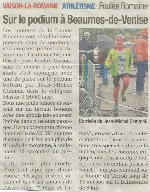 Presse 2019 12 05 Beaumes